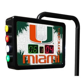 Miami (Fl) Electronic Shuffleboard Scoring Unit By Holland Bar Stool Co.