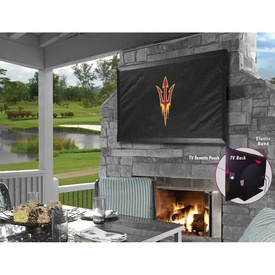 Arizona State TV Cover with Pitchfork Logo Covers by HBS