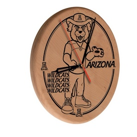 Arizona Laser Engraved Wood Clock by the Holland Bar Stool Co.