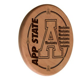 Appalachian State Laser Engraved Wood Sign by the Holland Bar Stool Co.
