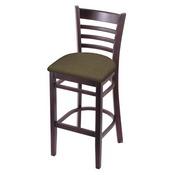 3140 Stool with Dark Cherry Finish and Graph Cork Seat