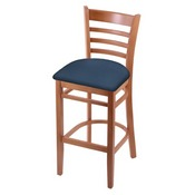 3140 Stool with Medium Finish and Rein Bay Seat