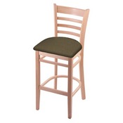 3140 Stool with Natural Finish and Graph Cork Seat