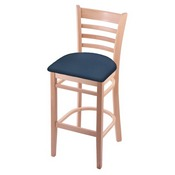 3140 Stool with Natural Finish and Rein Bay Seat