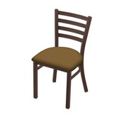 """400 Jackie 18"""" Chair with Bronze Finish and Canter Saddle Seat"""