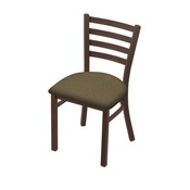 "400 Jackie 18"" Chair with Bronze Finish and Graph Cork Seat"