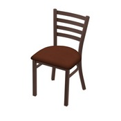 """400 Jackie 18"""" Chair with Bronze Finish and Rein Adobe Seat"""