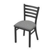 "400 Jackie 18"" Chair with Pewter Finish and Graph Alpine Seat"