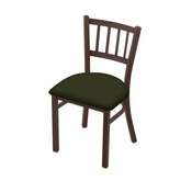 "610 Contessa 18"" Chair with Bronze Finish and Canter Pine Seat"