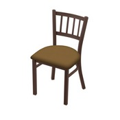 "610 Contessa 18"" Chair with Bronze Finish and Canter Saddle Seat"