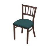 """610 Contessa 18"""" Chair with Bronze Finish and Graph Tidal Seat"""
