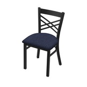 """620 Catalina 18"""" Chair with Black Wrinkle Finish and Graph Anchor Seat"""