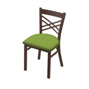 "620 Catalina 18"" Chair with Bronze Finish and Canter Kiwi Green Seat"
