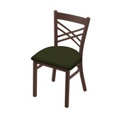 """620 Catalina 18"""" Chair with Bronze Finish and Canter Pine Seat"""