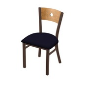 """630 Voltaire 18"""" Chair with Bronze Finish, Medium Back, and Canter Twilight Seat"""