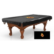 Arizona State Billiard Table Cover with Sparky logo by Holland Bar Stool Co.