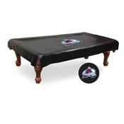 Colorado Avalanche Billiard Table Cover by Holland Bar Stool Co.
