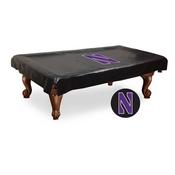 Northwestern Billiard Table Cover by Holland Bar Stool Co.