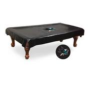 San Jose Sharks Billiard Table Cover by Holland Bar Stool Co.