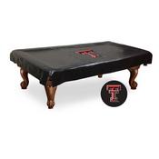 Texas Tech Billiard Table Cover by Holland Bar Stool Co.