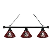 Florida State (Head) 3 Shade Billiard Light with Fixture by Holland Bar Stool
