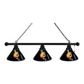 Ferris State 3 Shade Billiard Light with Fixture by Holland Bar Stool
