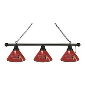 Illinois State 3 Shade Billiard Light with Fixture by Holland Bar Stool