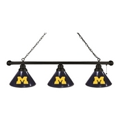 Michigan 3 Shade Billiard Light with Fixture by Holland Bar Stool