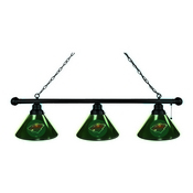 Minnesota Wild 3 Shade Billiard Light with Fixture by Holland Bar Stool