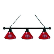 Montreal Canadiens 3 Shade Billiard Light with Fixture by Holland Bar Stool