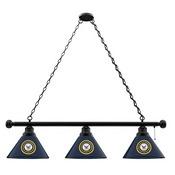 U.S. Navy 3 Shade Billiard Light with Fixture by Holland Bar Stool