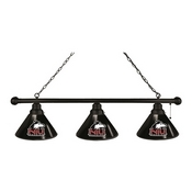Northern Illinois 3 Shade Billiard Light with Fixture by Holland Bar Stool