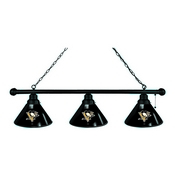 Pittsburgh Penguins 3 Shade Billiard Light with Fixture by Holland Bar Stool