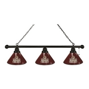 Texas State 3 Shade Billiard Light with Fixture by Holland Bar Stool