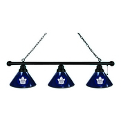 Toronto Maple Leafs 3 Shade Billiard Light with Fixture by Holland Bar Stool