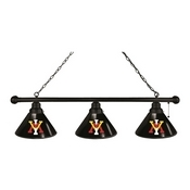 Virginia Military Institute 3 Shade Billiard Light with Fixture by Holland Bar Stool