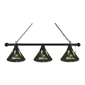 Wright State 3 Shade Billiard Light with Fixture by Holland Bar Stool