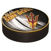 Arizona State Bar Stool Seat Cover with Pitchfork Logo By Holland Covers