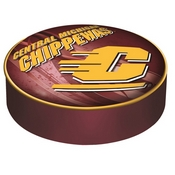 Central Michigan Bar Stool Seat Cover By Holland Covers