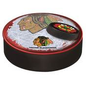 Chicago Blackhawks Bar Stool Seat Cover By Holland Covers (Black)
