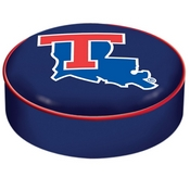 Louisiana Tech Bar Stool Seat Cover By HBS