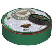 Minnesota Wild Bar Stool Seat Cover By Holland Covers