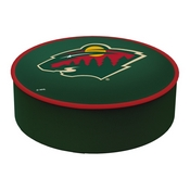 Minnesota Wild Bar Stool Seat Cover By HBS