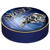 Us Naval Academy (Navy) Bar Stool Seat Cover By Holland Covers