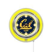 Cal Double Neon Ring, Logo Clock by Holland Bar Stool Company