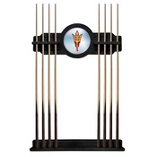 Arizona State Cue Rack with Pitchfork Logo by Holland Bar Stool