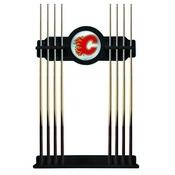 Calgary Flames Cue Rack by Holland Bar Stool