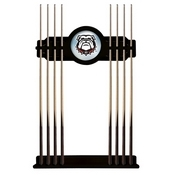 Georgia Bulldog Cue Rack by Holland Bar Stool