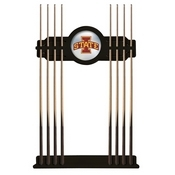 Iowa State Cue Rack by Holland Bar Stool