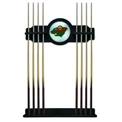 Minnesota Wild Cue Rack by Holland Bar Stool